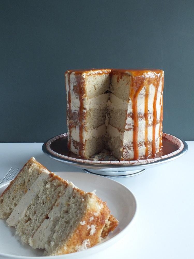 brown butter nutmeg cake | DAVE BAKES