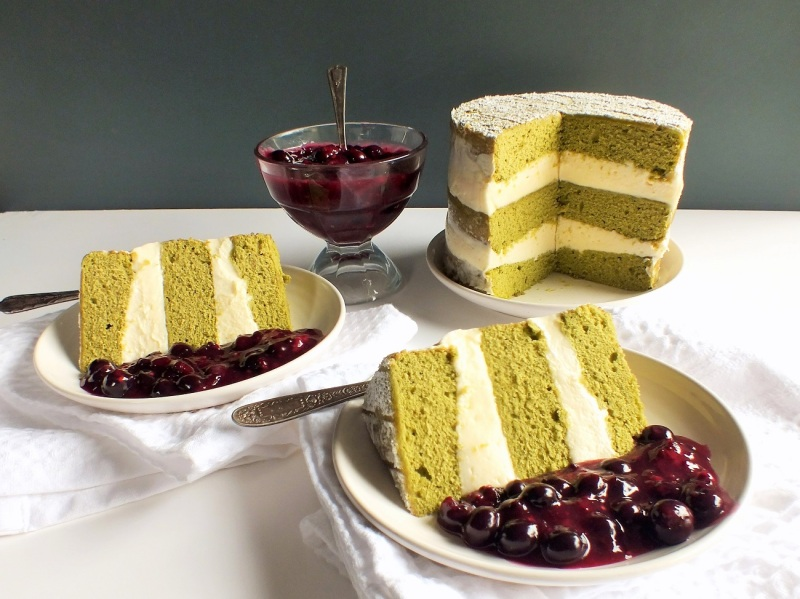 green tea cake 5