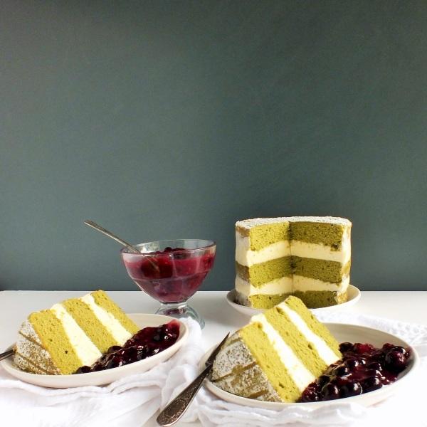 green tea cake 6