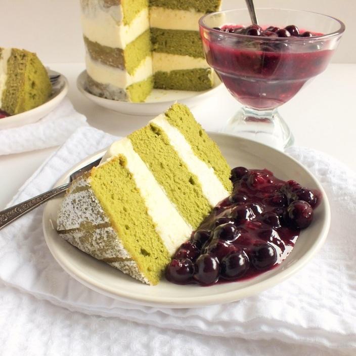 green tea cake 7