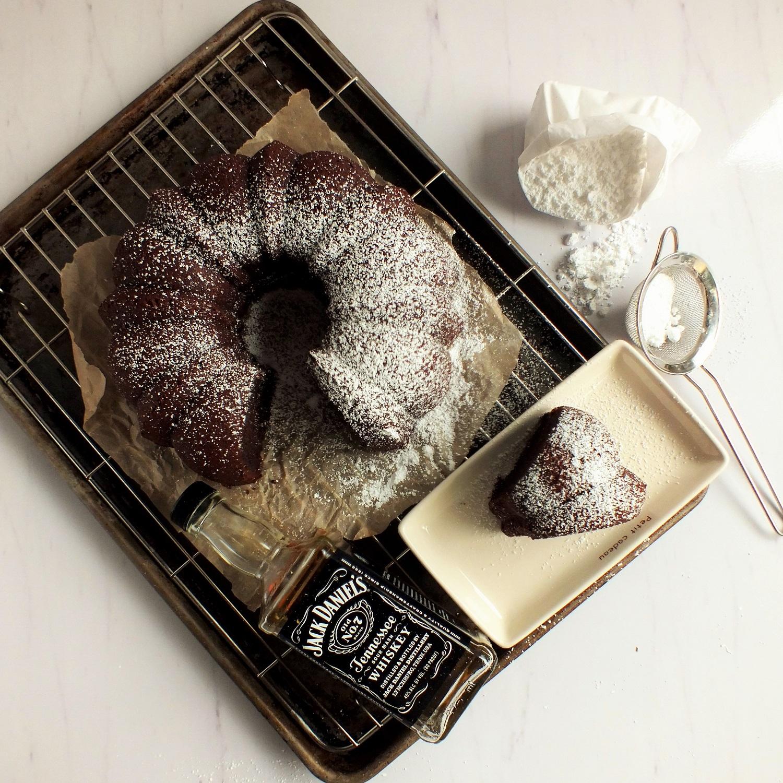chocolate whiskey bundt cake | DAVE BAKES
