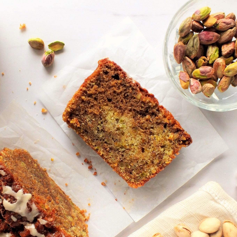 Cardamom Cake with Coffee Glaze pictures