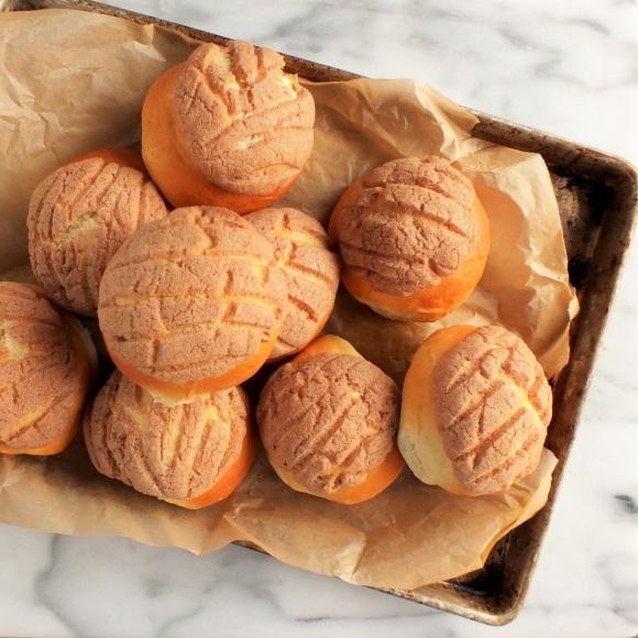 cinnamon conchas | dave bakes